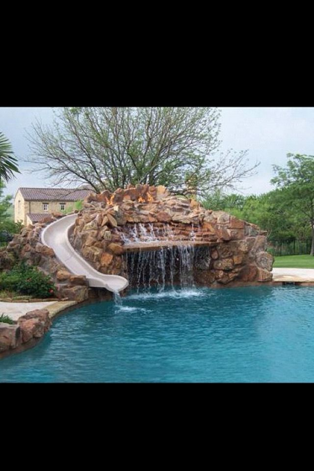 Pin by camryn self on my perfect home ideas pool ideen h user mit pool baden - My perfect pool ...