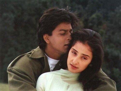 Shahrukh Khan And Manisha Koirala Bollywood Action Movies Shahrukh Khan Shah Rukh Khan Movies