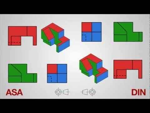 Sistema De Proyeccion Asa Y Din Youtube Ejercicios De Dibujo Dibujo Tecnico Ejercicios Tecnicas De Dibujo
