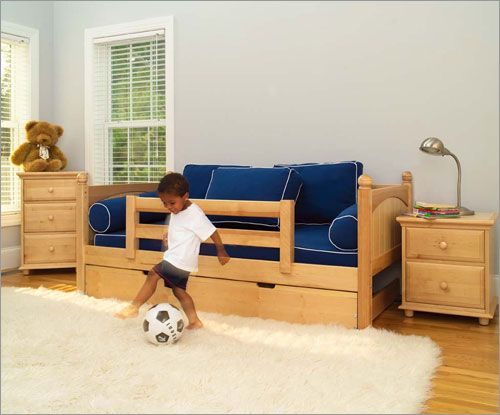 extra long twin bed with trundle | Buy Maxtrix Kids Twin Daybed ...