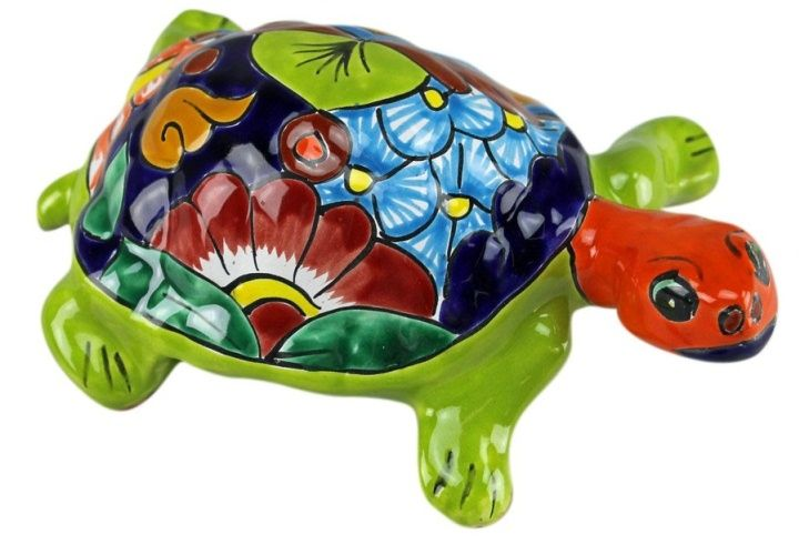 Hand Painted Ceramic Turtle Ceramic Turtle Ceramic Painting Turtle Painting