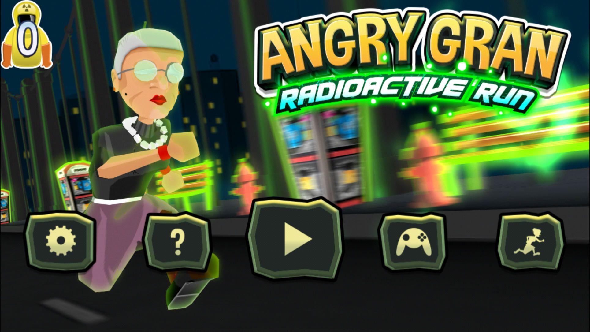 Angry Gran Radioactive Run RacingGamesSportsios Free