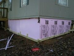 An easy way to insulate and skirt an elevated structure - DIY Life Insulation Mobile Home on mobile home building, mobile home tools, mobile home pipes, mobile home fasteners, mobile home insulated skirting, mobile home fabric, mobile home roof replacement costs, mobile home windows and doors, mobile home heat pumps, mobile home mirrors, mobile home fittings, mobile home shingles, mobile home metal, mobile home photography, mobile home maintenance, mobile home electricity, mobile home stone, mobile home furnaces, mobile home signs, mobile home cement,