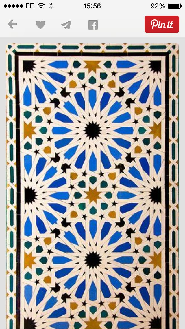 Middle Eastern Tile TERRIFIC TILES In 60 Islamic Tiles Cool Middle Eastern Patterns