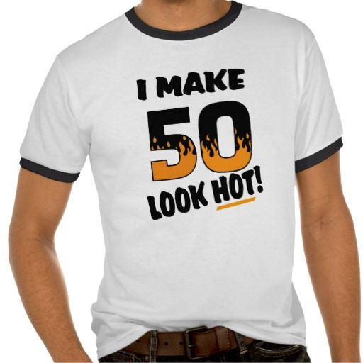 =>Sale on          I Make 50 Look Hot Birthday T-shirt           I Make 50 Look Hot Birthday T-shirt We have the best promotion for you and if you are interested in the related item or need more information reviews from the x customer who are own of them before please follow the link to see fu...Cleck See More >>> http://www.zazzle.com/i_make_50_look_hot_birthday_t_shirt-235186457634397723?rf=238627982471231924&zbar=1&tc=terrest