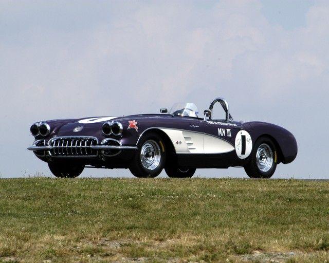 Long Lost Purple People Eater Corvette Race Car Heads To Amelia Island