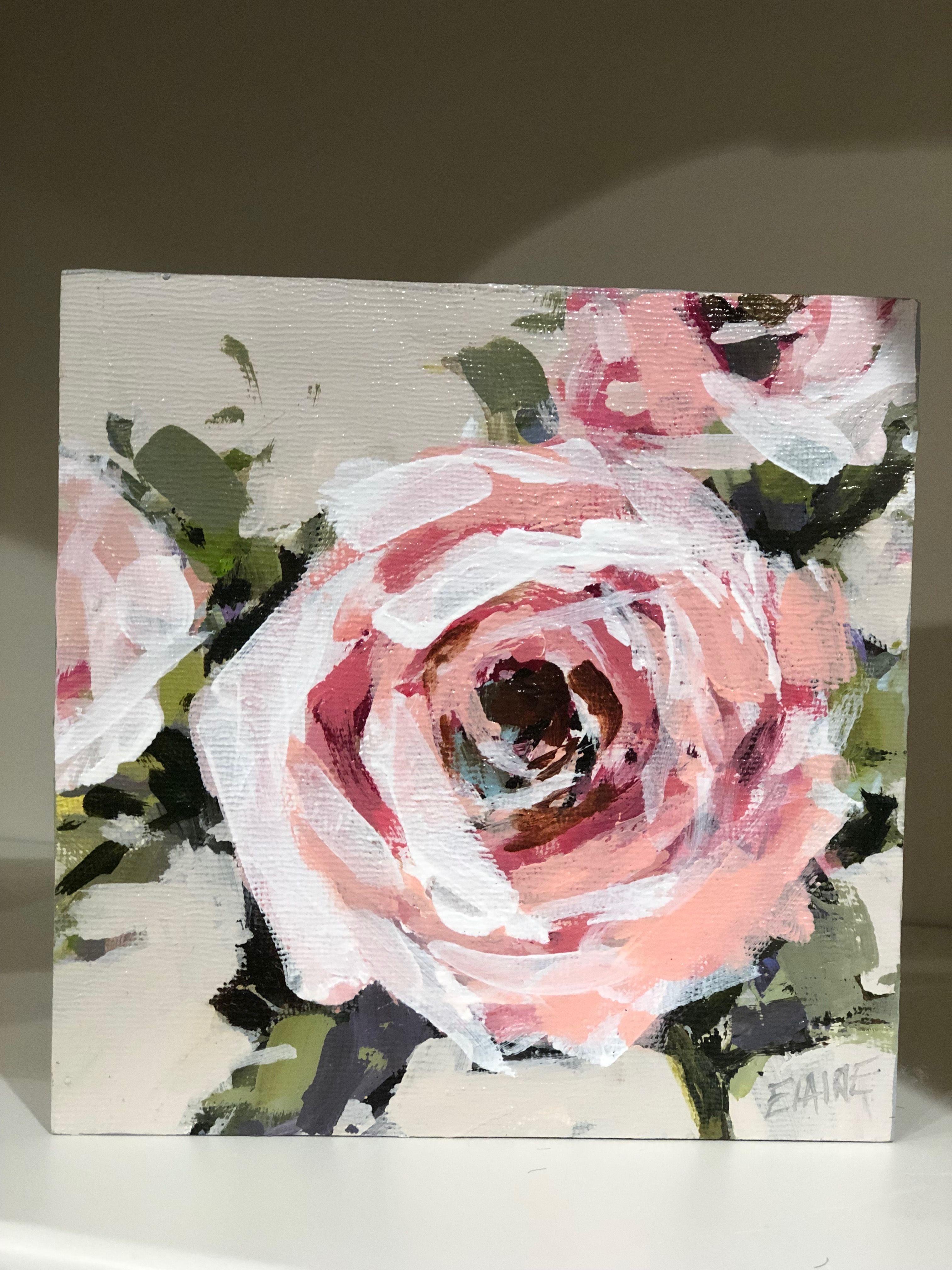 Acrylmalerei Bluten Malen Painting Flowers Tutorial Youtube