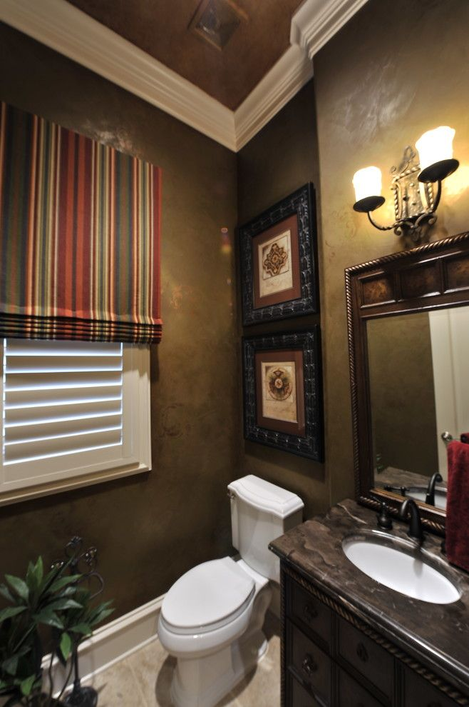 Awesome Wall Hangings Bathroom Decorating Ideas Images In Powder Room Traditional Design Jpg 658 990
