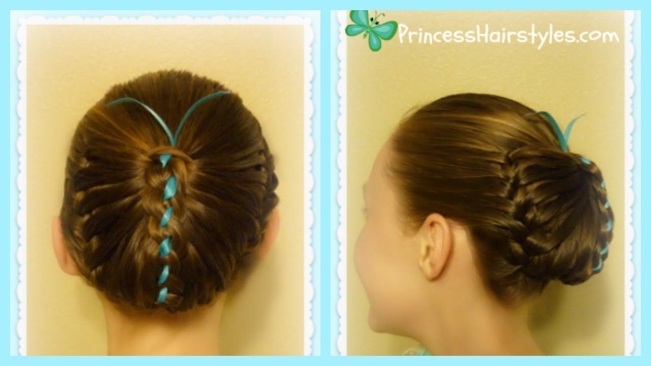 Butterfly hairstyle cute spring hairstyles tutoriales recogidos