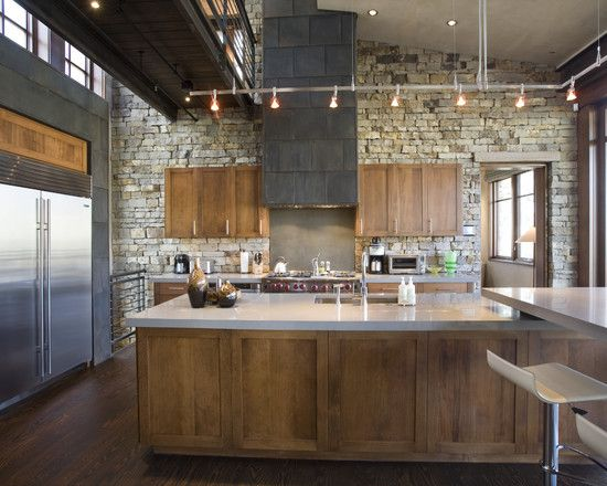 Kitchen New York Loft Kitchens Design, Pictures, Remodel, Decor And Ideas    Page 3