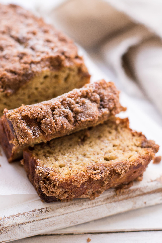 Healthy Coffee Cake Banana Bread