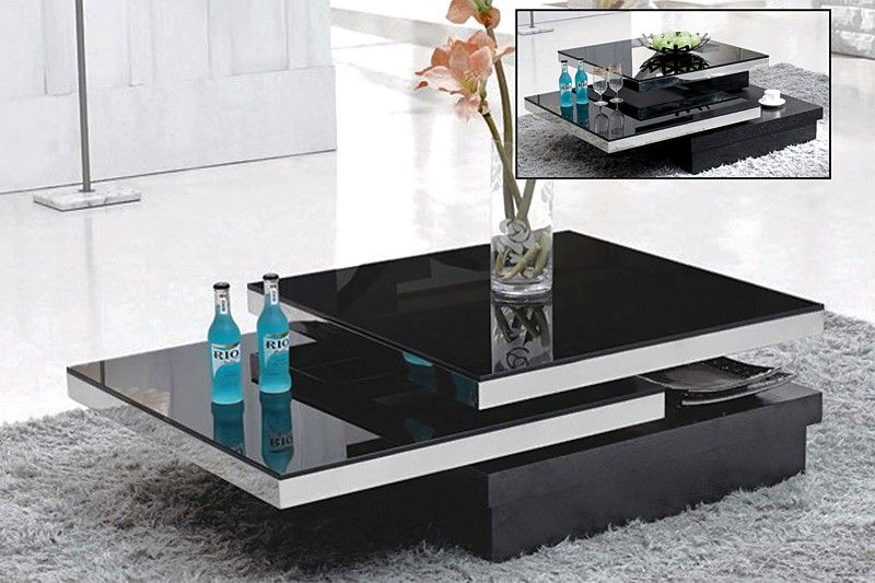 Best Chelsea Modern Coffee Table With Drawers In 2020 Coffee 640 x 480
