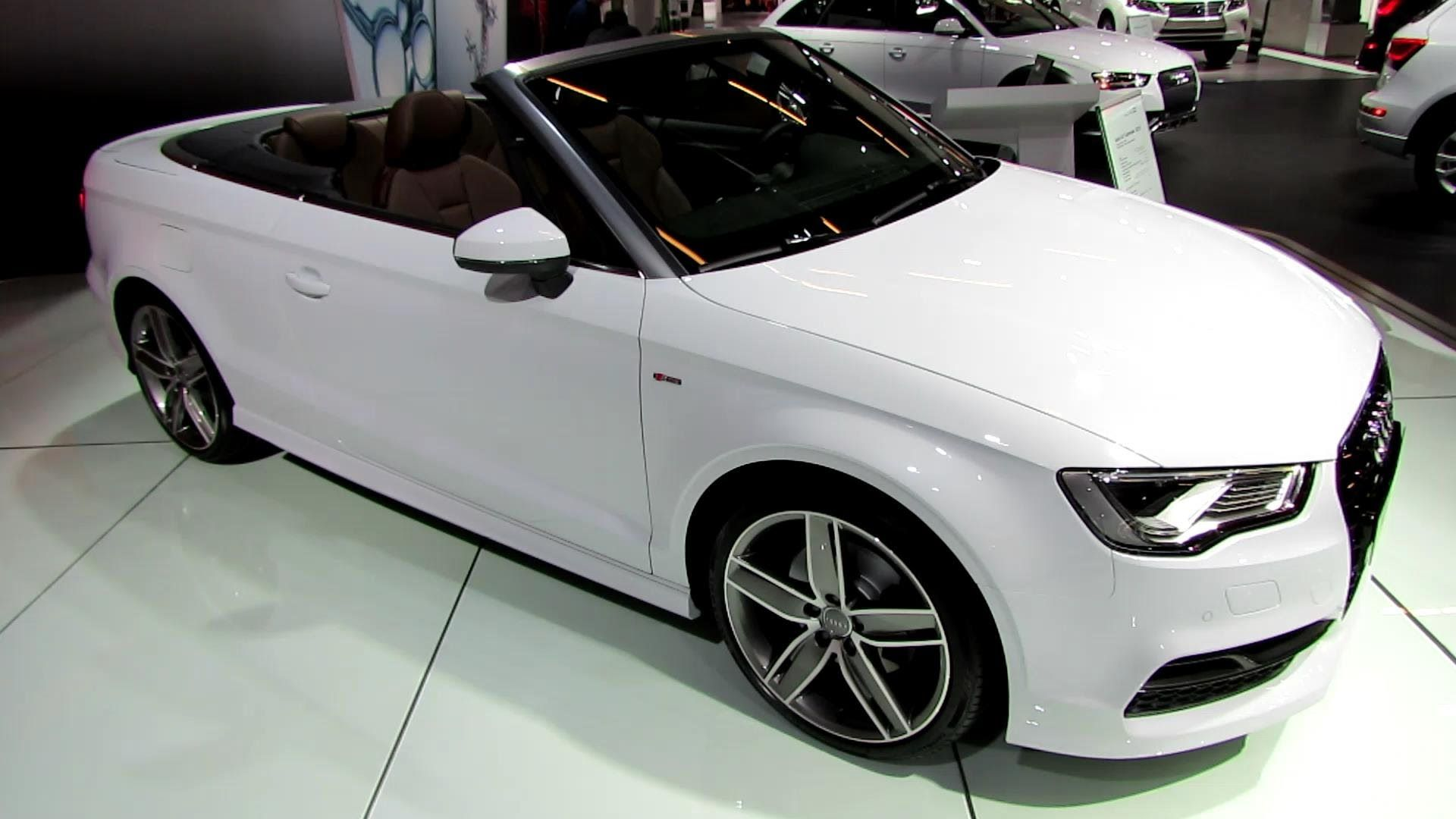 2015 audi a3 tfsi s line cabriolet exterior and interior. Black Bedroom Furniture Sets. Home Design Ideas