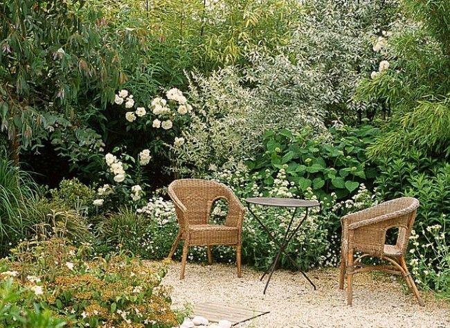 installer une terrasse en gravier gravel garden and gardens. Black Bedroom Furniture Sets. Home Design Ideas