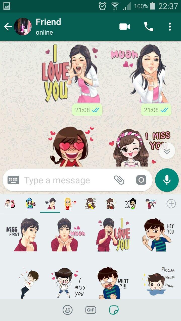 Épinglé par Top Stickers sur Love Stickers For Whatsapp
