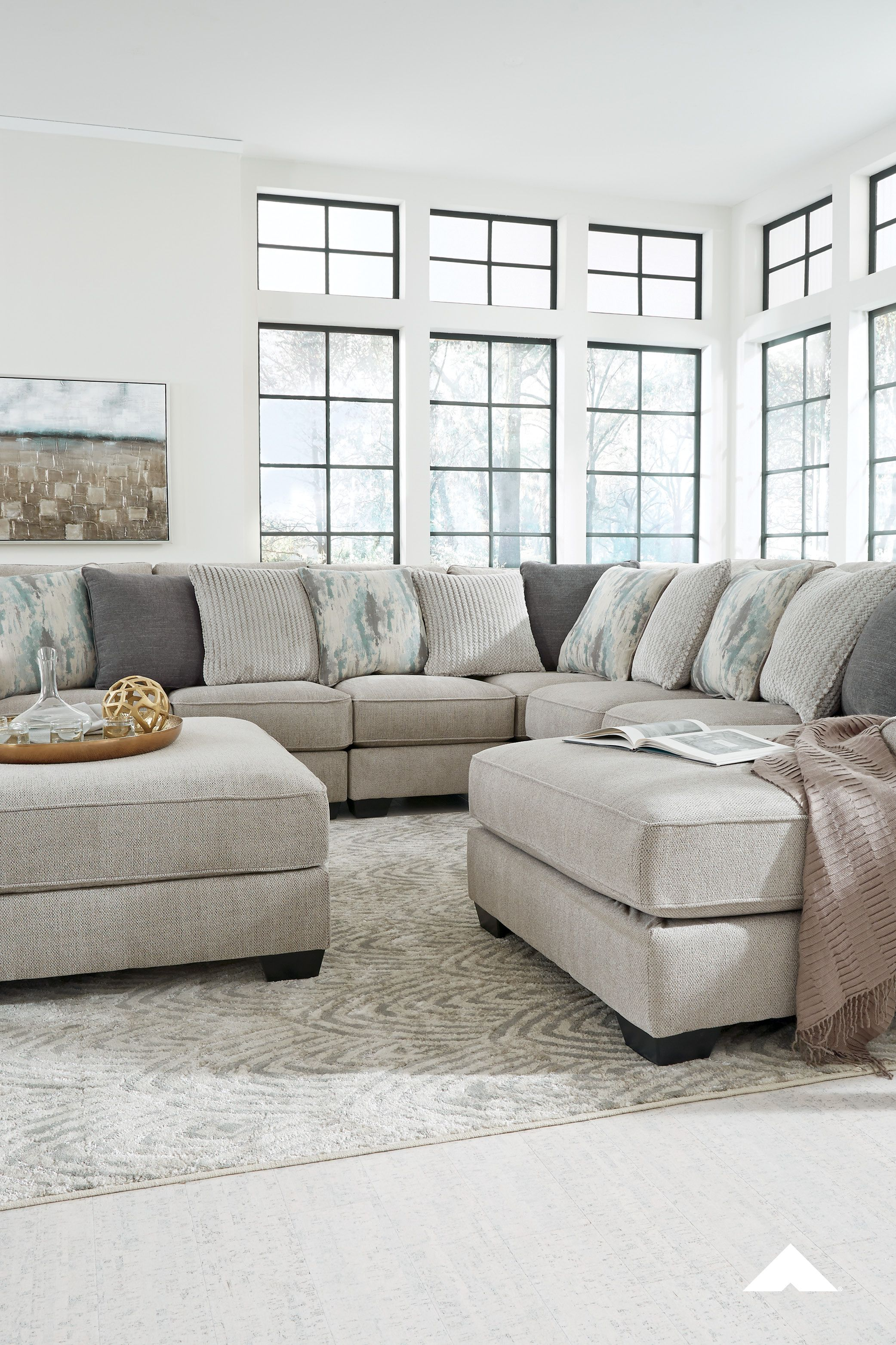 Ardsley Cream Sectional By Ashley Furniture Industries Inc Contemporary Living Room Home Decor Sectional Ashley Furniture Industries Living Room Sectional