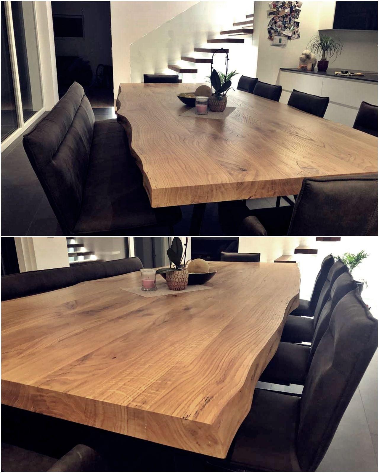 Tisch aus Eichenvollholz geölt (3m x 1,2m x 7cm ...