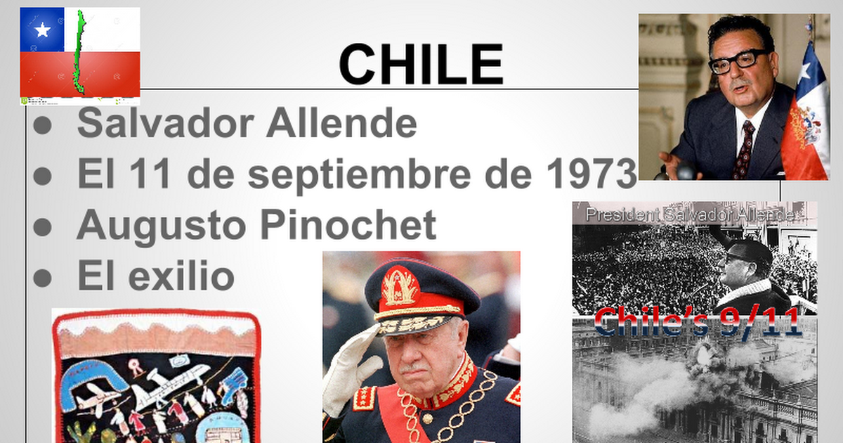Chile - Allende, 9/11/73, Pinochet, exilio | Chile, Allende, Baseball cards