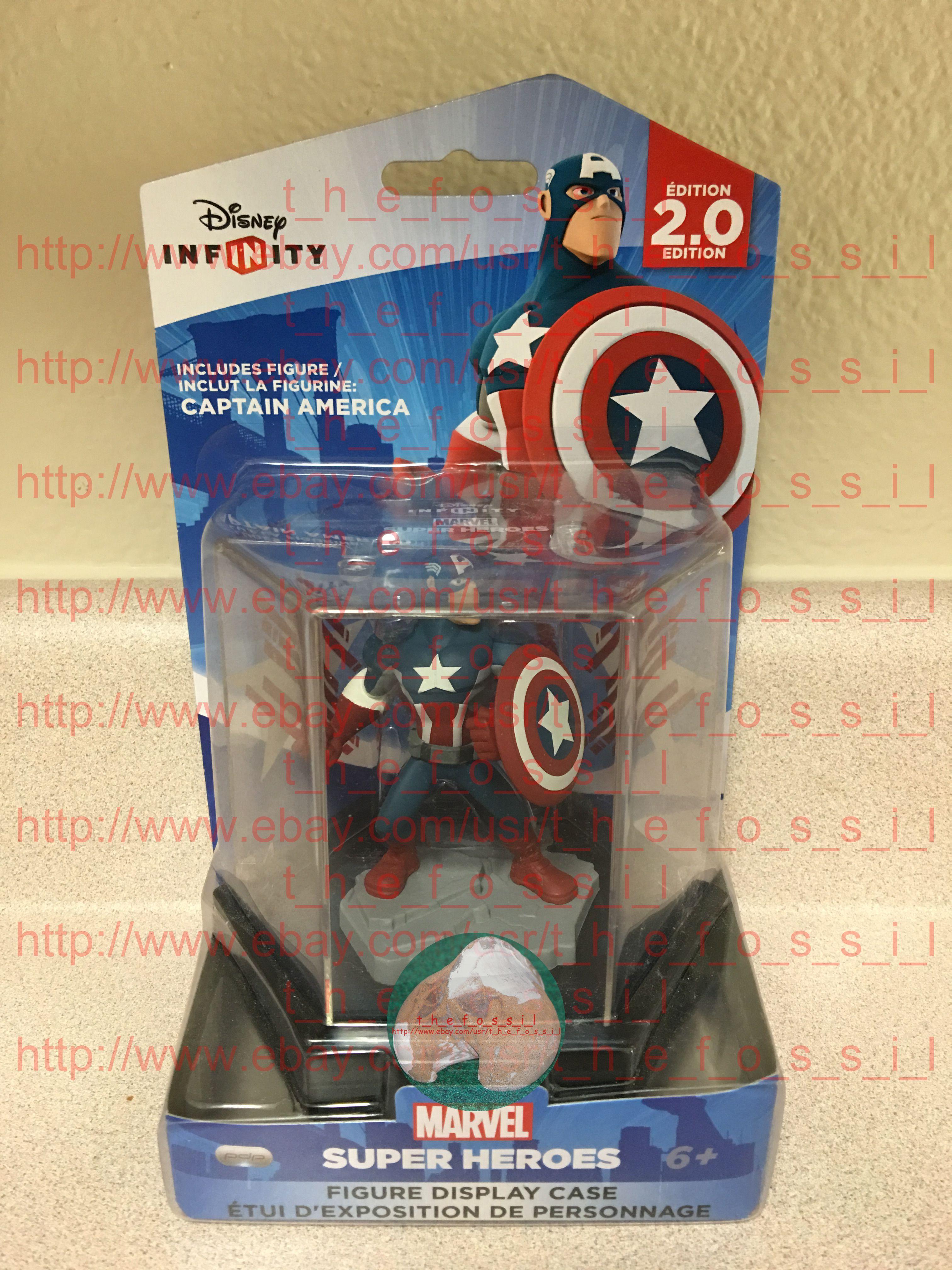 Disney Infinity 2 0 Collectors Edition Captain America Disney Infinity Disney Mib