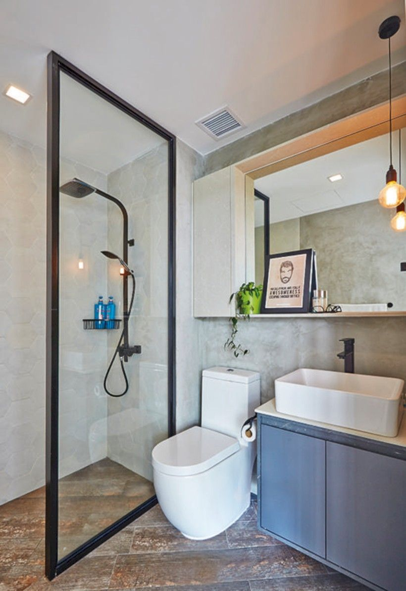 68 Cool Stylish Small Bathroom Design Ideas Home Decor Ideas Toilet And Bathroom Design Toilet Design Small Toilet Design