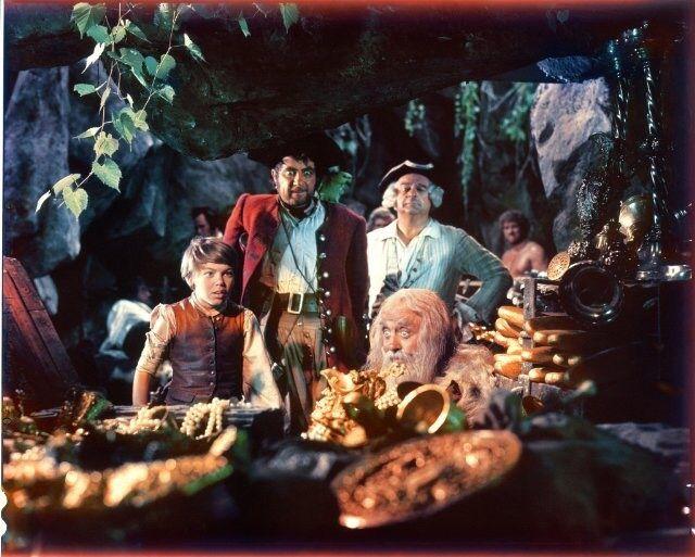 #TreasureIsland, 1950. Whit #RobertNewton and #BobbyDriscoll.
