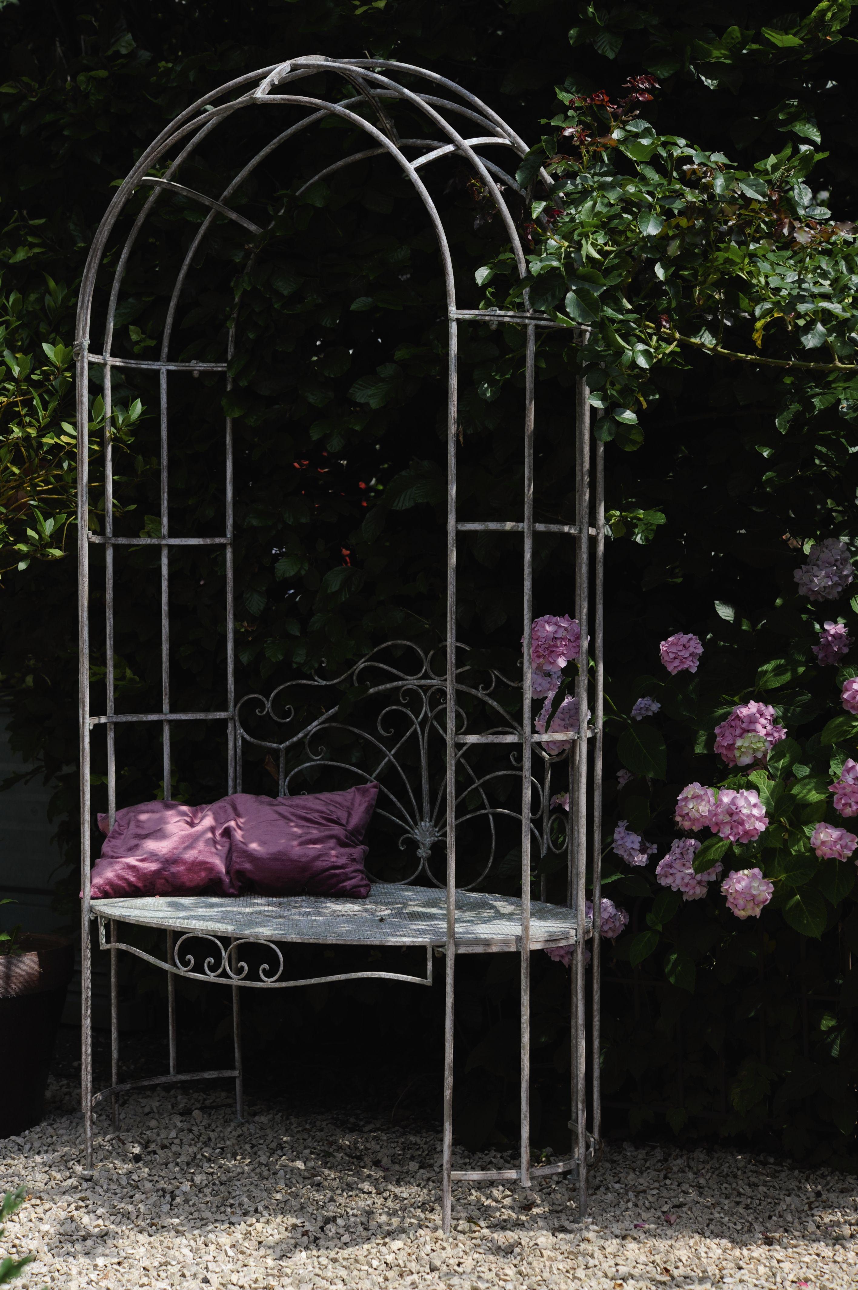 Rankbogen Gartendekoration, Gartengestaltung ideen