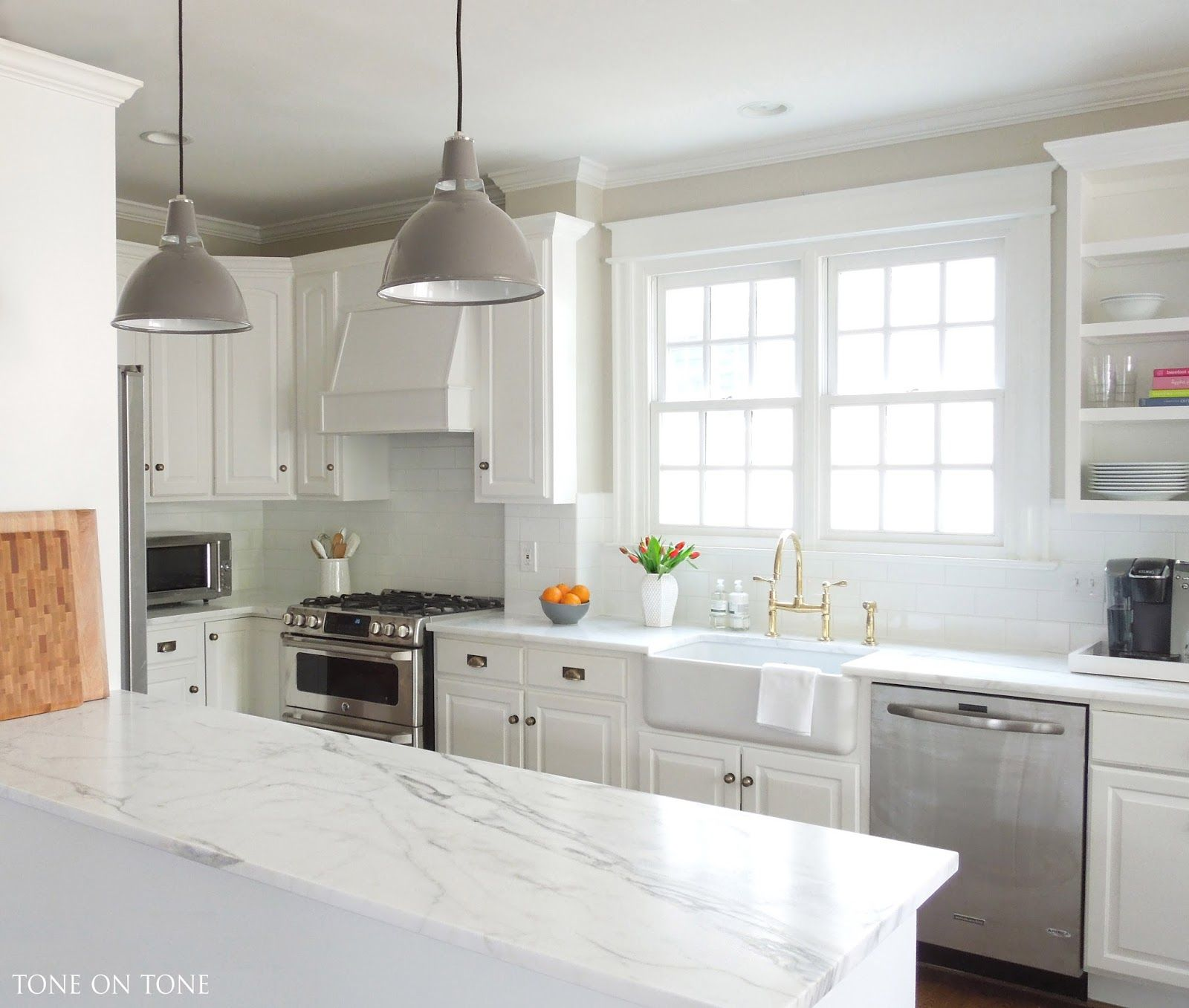 A Kitchen Makeover Kitchens without upper