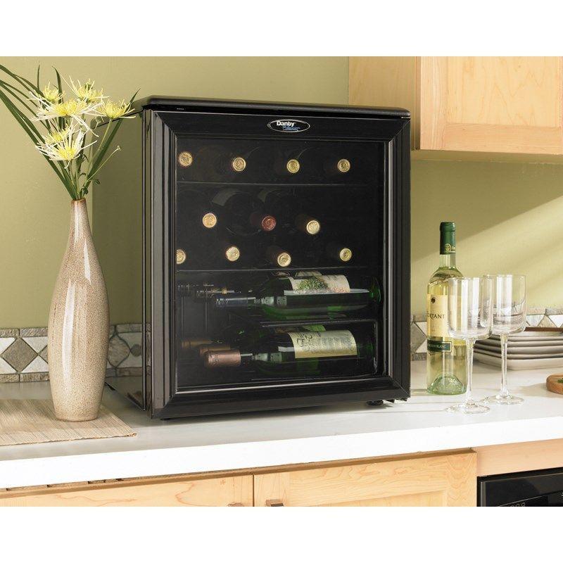 Danby Dwc172bl 17 Bottles Countertop Wine Cooler Wine Cooler