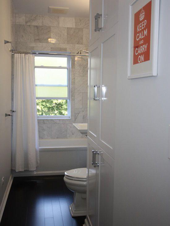 Long Narrow Bathroom Design,