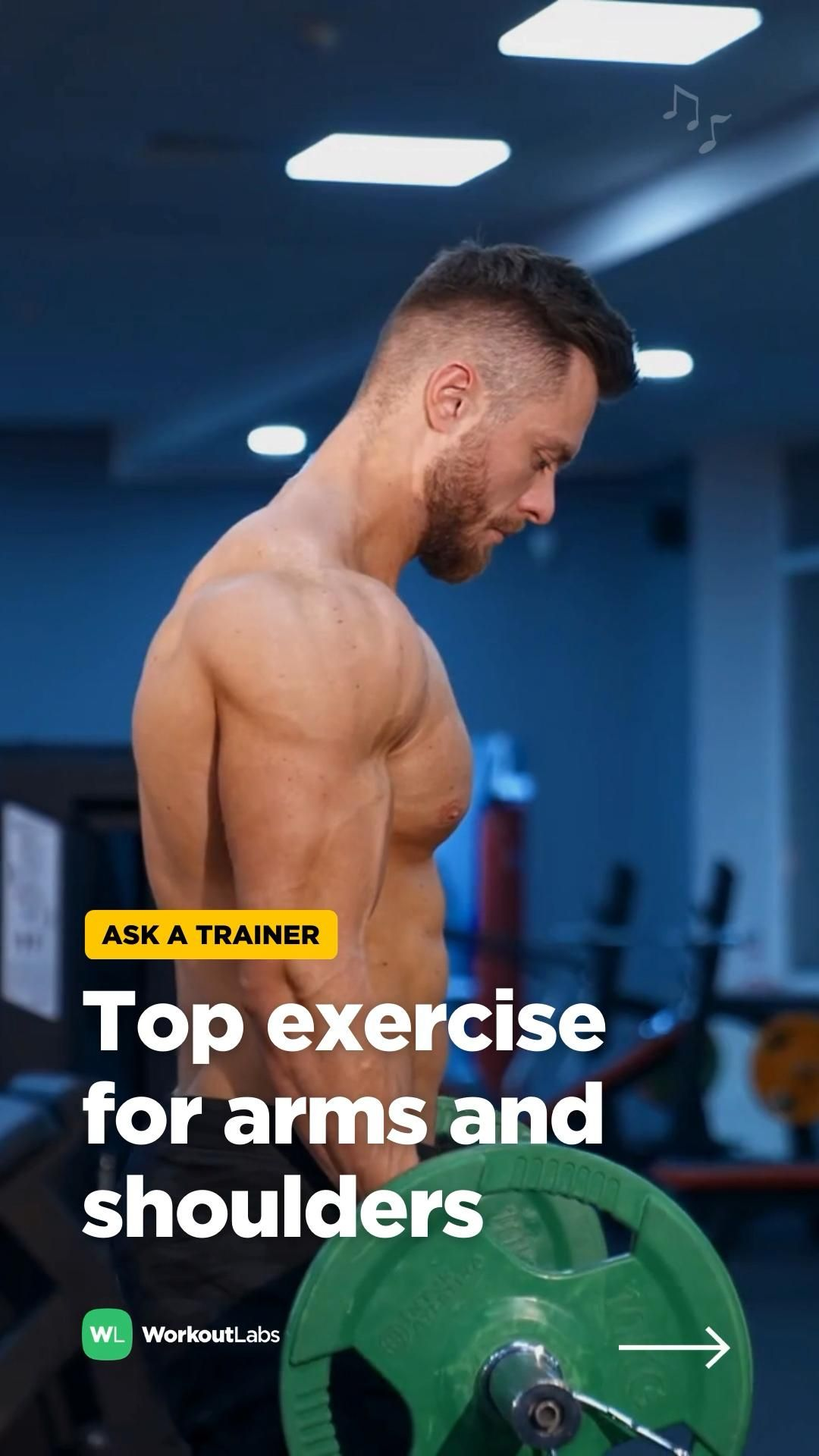 Top exercise for arms and shoulders