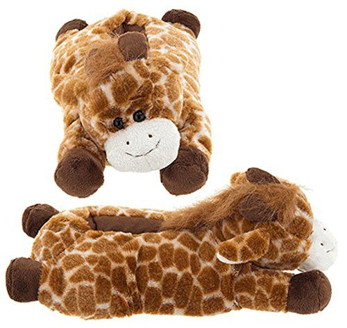 Adults giraffe slippers