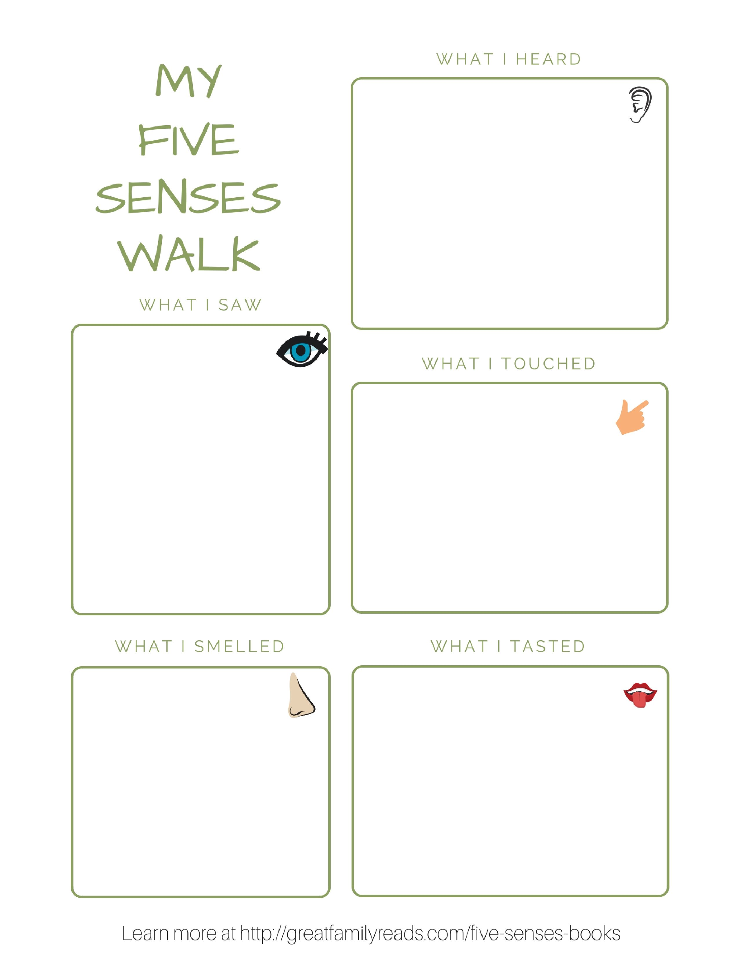 Explore The Five Senses On A Walk With Your Child Stemed