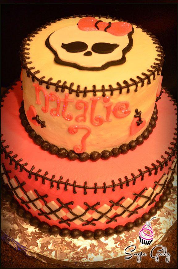 Fun Monster High Birthday Cake In Austin Texas By Sugie Galz