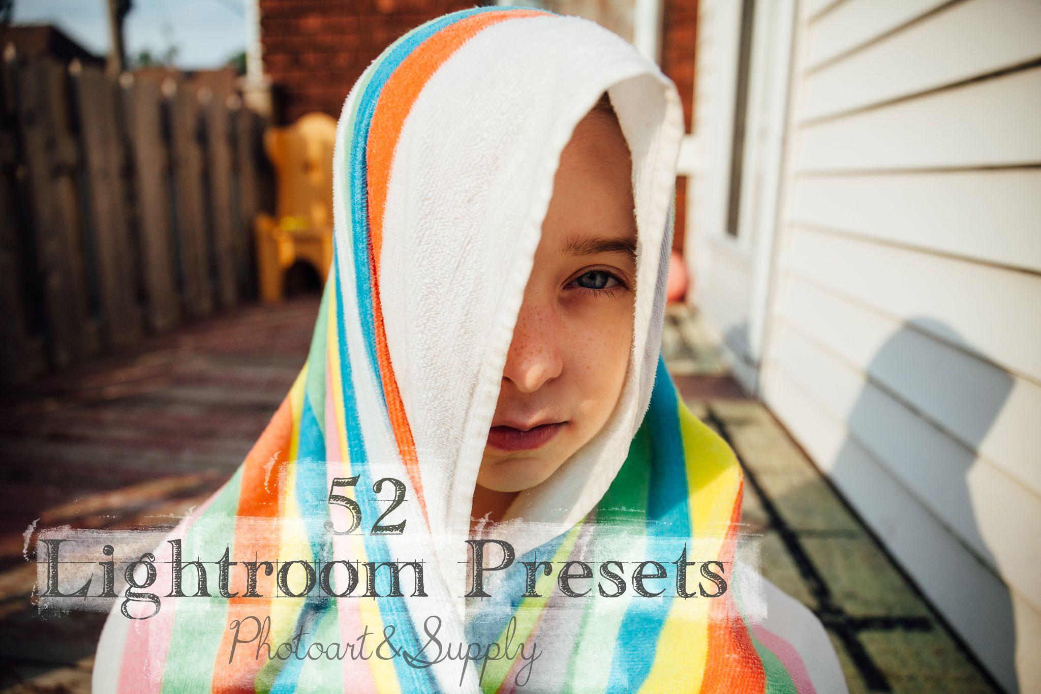 Get 52 Lightroom Presets for just 15! Lightroom presets