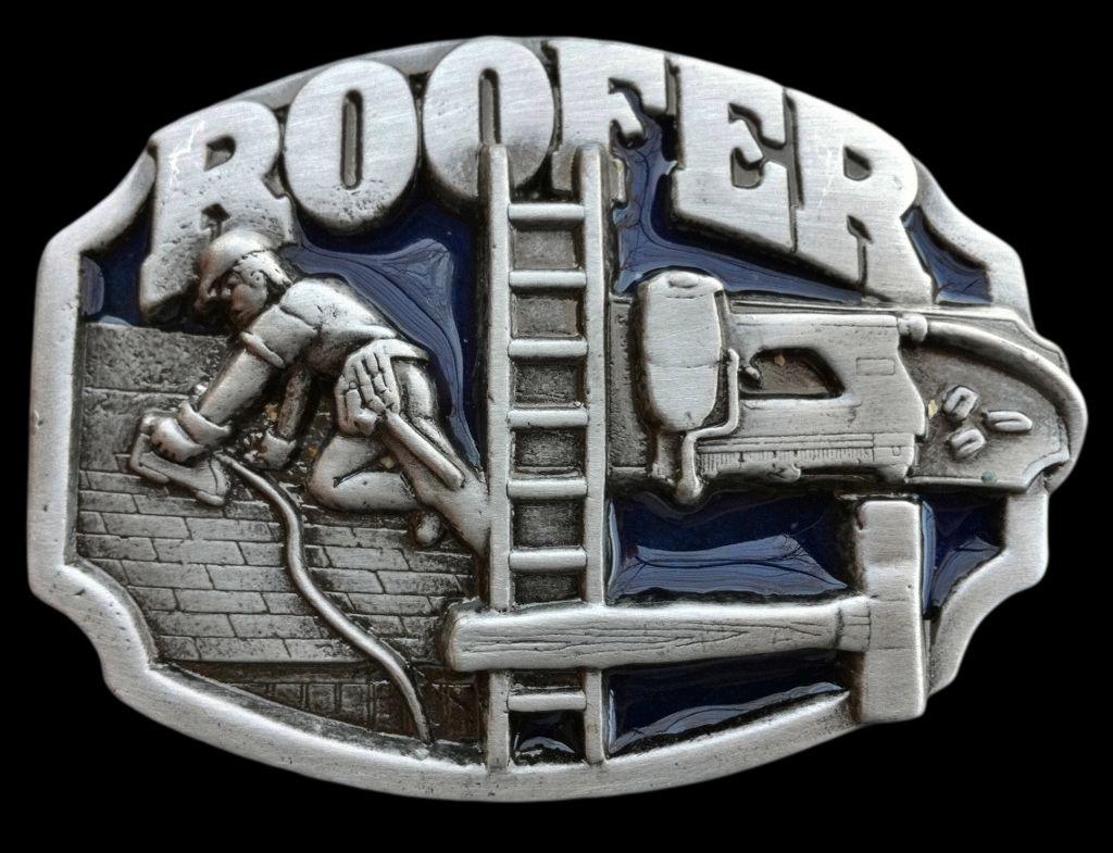 Roofer Ladder Repair Wocker Metal Belt Buckle Hammer Tools