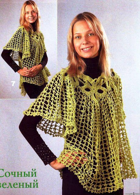 Irish crochet &: CAPE