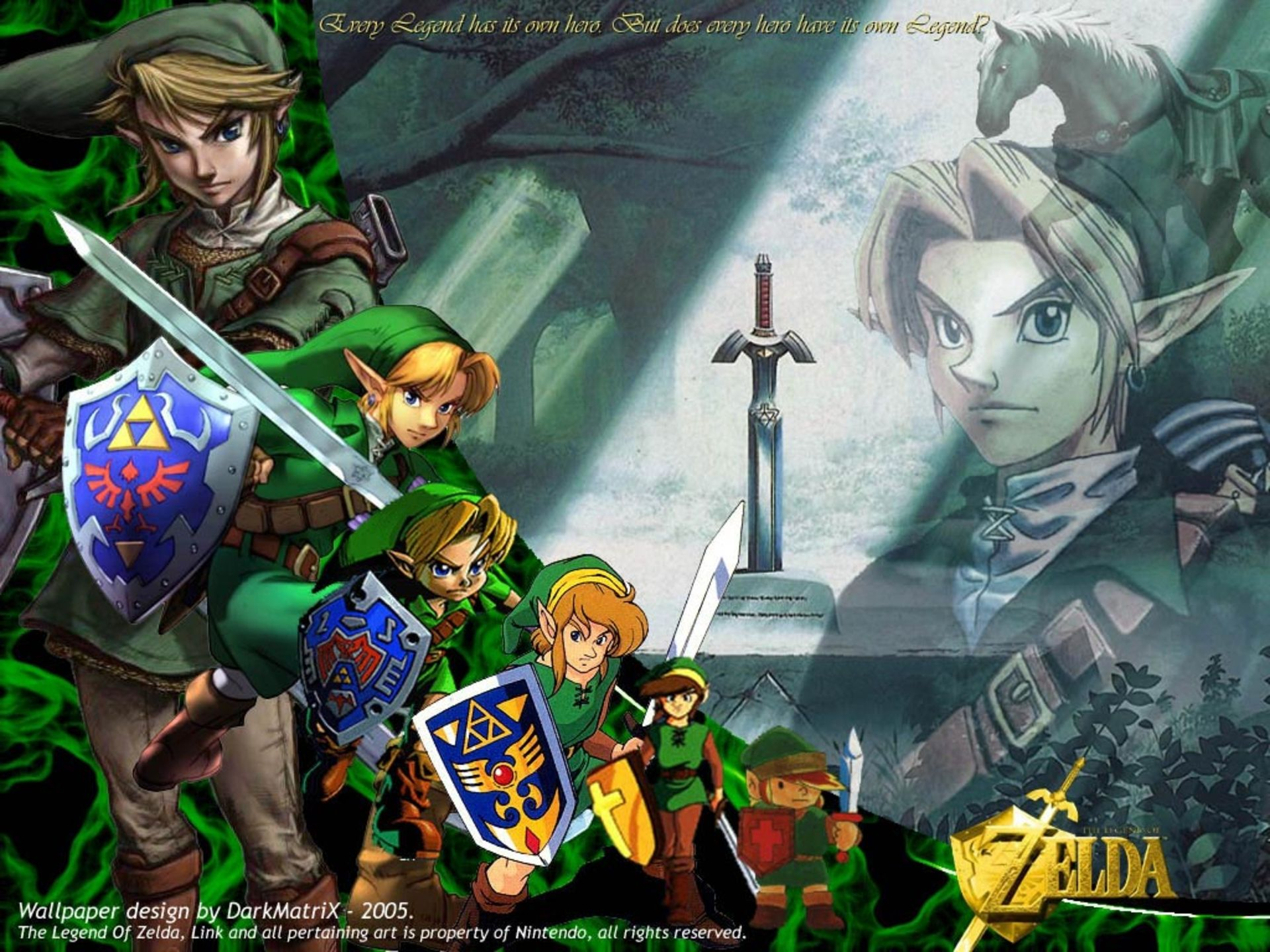 A Link To The Past Game Scenes 1920x1440 Px Hd Desktop