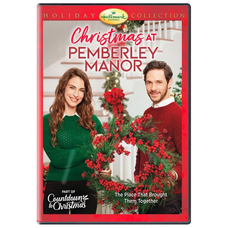 Christmas at Pemberley Manor DVD in 2020 Hallmark