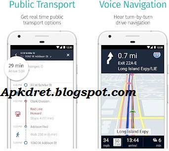 HERE WeGo Offline Maps 2.0.13119 apk Gps navigation, Map