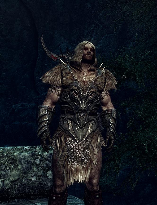 Skyrim - My badass rogue+ranger by theartofshade deviantart