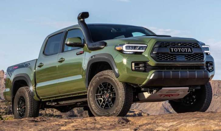 2021 toyota tacoma allnew redesign detail price and