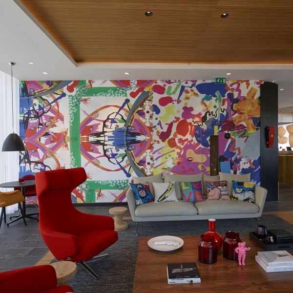 citizenM London Shoreditch Pizza Pinterest Modern - design hotel citizenm london