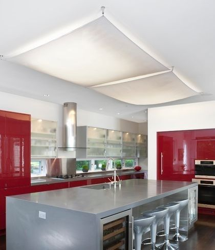 Clever Ways To Overcome An Interior Style Burden Overhead Fluorescent Lamps