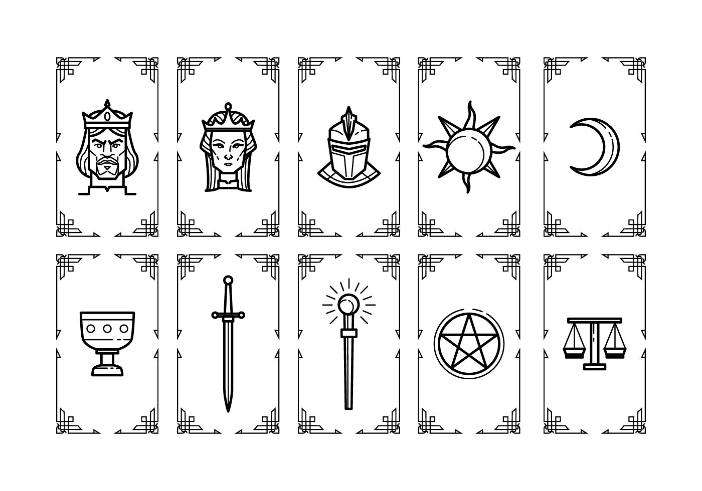 Tarot Card Designs Google Search Free Tarot Cards Free Tarot Diy Tarot Cards