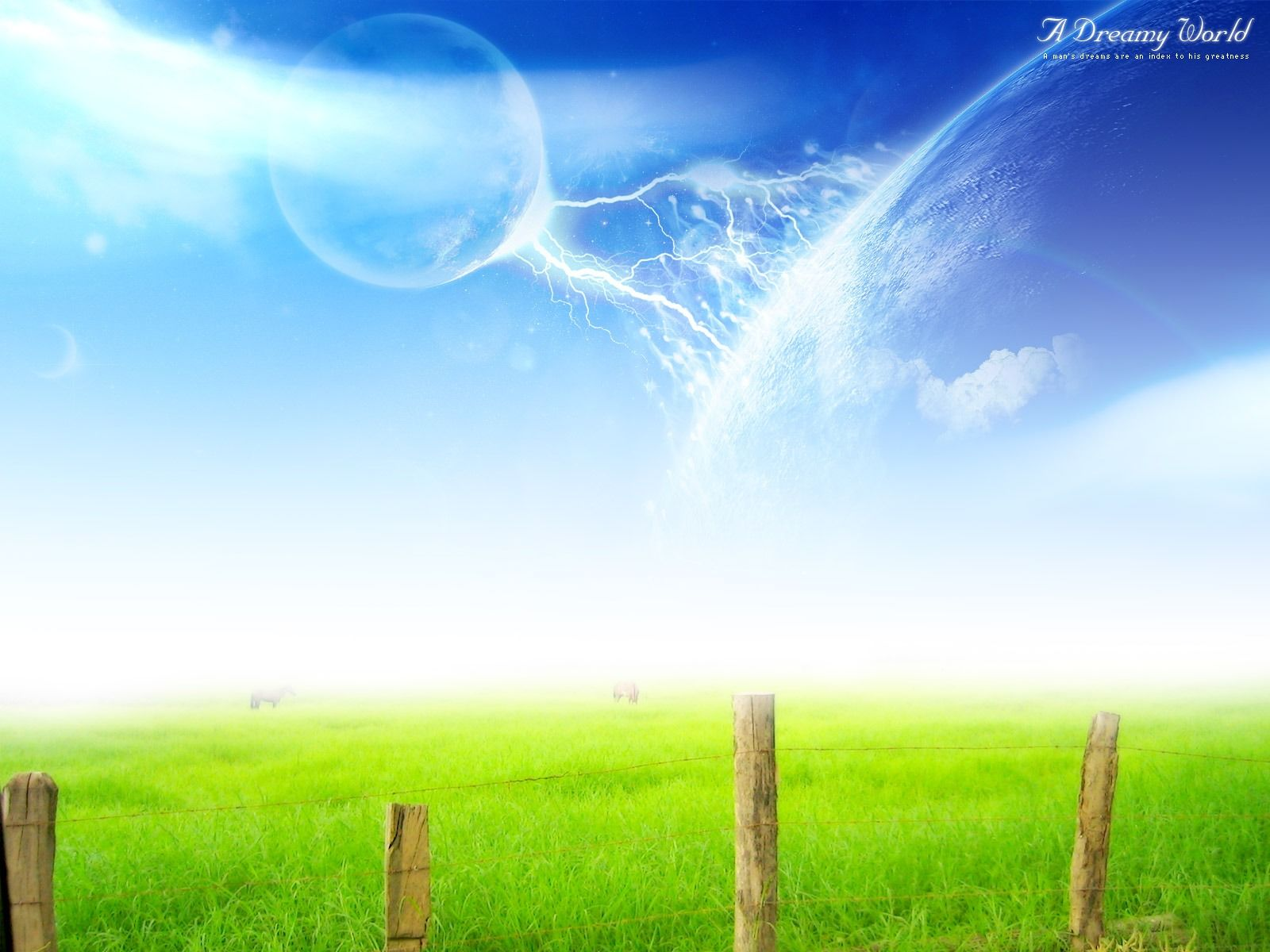 A Dreamy World Beautiful HD Wallpapers All 1600x1200