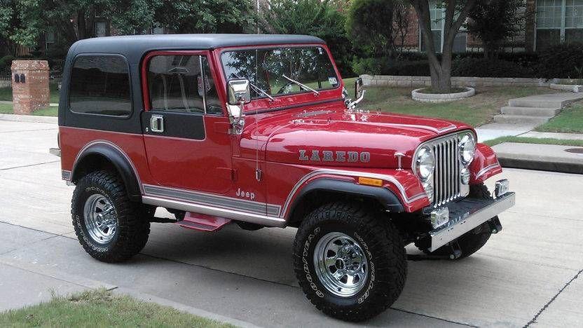 1983 Jeep Cj7 Laredo Jeep Cj7 Jeep Cj Jeep