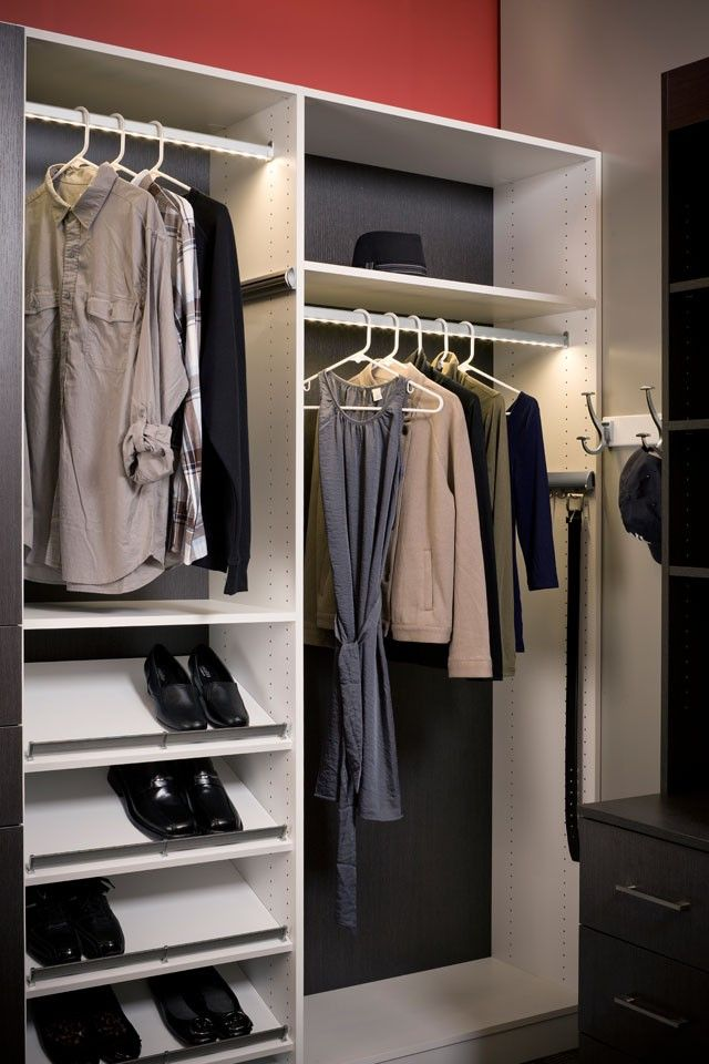 Hafele, 833.72.755, LOOX Wardrobe Rail Kit, With LED 2015, Cool