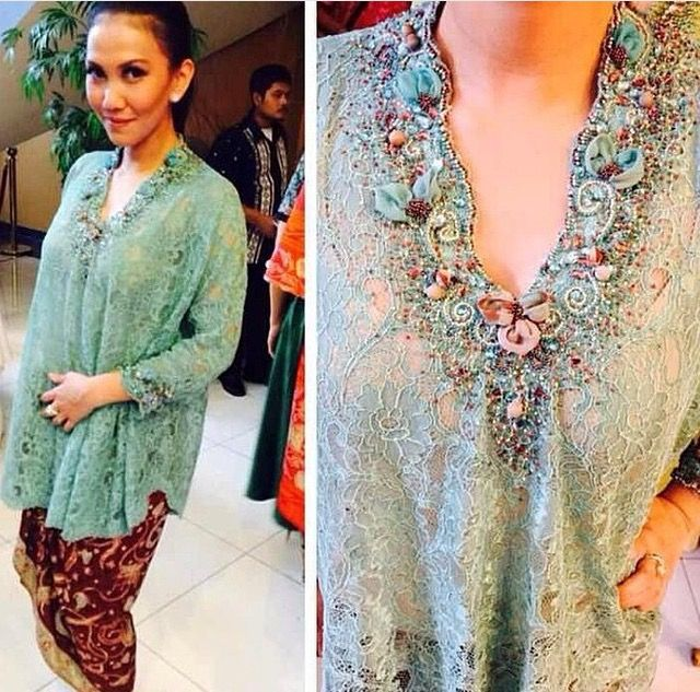 Baju Batik Ala Artis: Baju Batik Ala Artis Baju Batik Ala Artis Pin By Tu Syuta