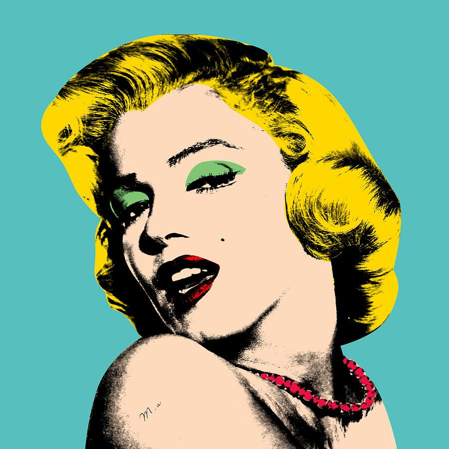 Pics For > Andy Warhol Original Artwork | Boden's Swing when you ...