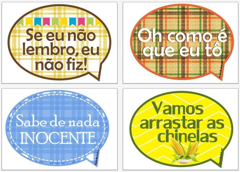 Plaquinhas Divertidas Para Festa Junina Barraca Do Beijo